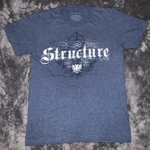 Structure Graphic T-Shirt Size Small